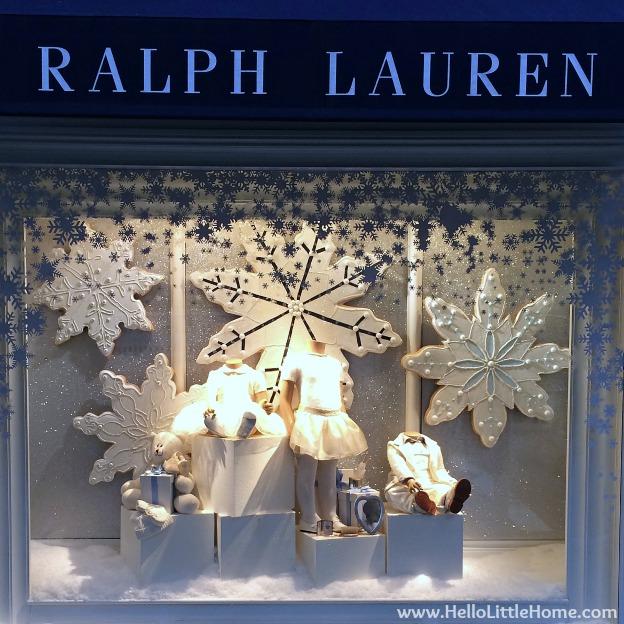 New York Holiday Tour: Ralph Lauren Kids | Hello Little Home #Christmas #NYC #5thAvenue #MadisonAvenue