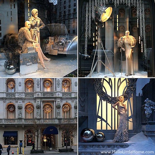New York Holiday Tour: Ralph Lauren | Hello Little Home #Christmas #NYC #5thAvenue #MadisonAvenue