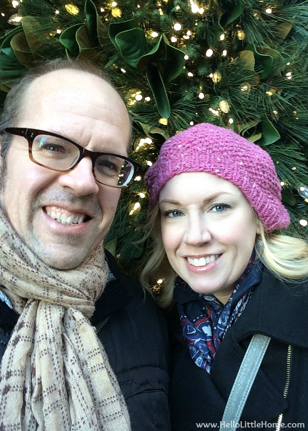 New York Holiday Tour: Selfie | Hello Little Home #Christmas #NYC #5thAvenue #MadisonAvenue