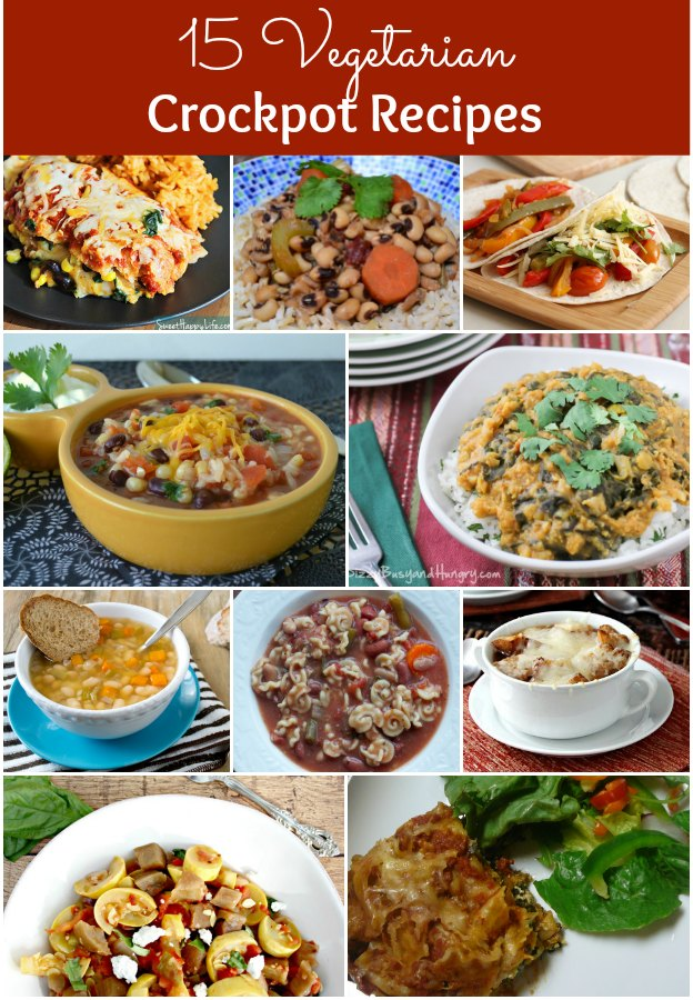 15 Easy and Delicious Vegetarian Crockpot Recipes | Hello Little Home