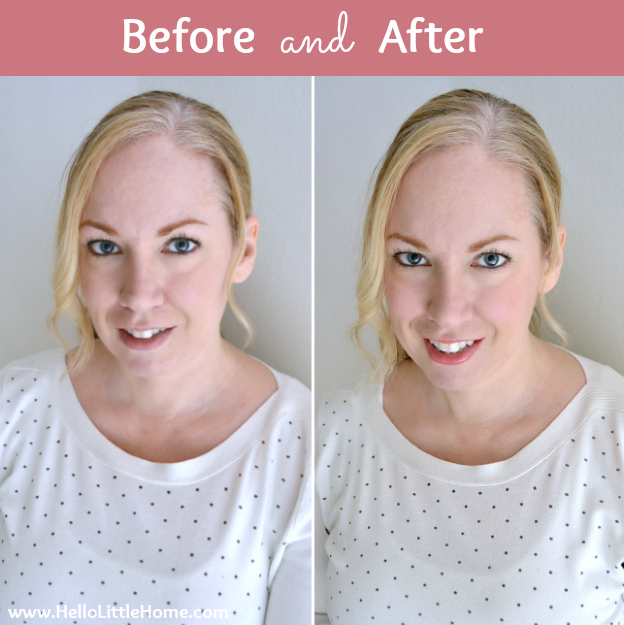 4 Tips for Brightening a Dull Winter Complexion: Before & After | Hello Little Home #beauty