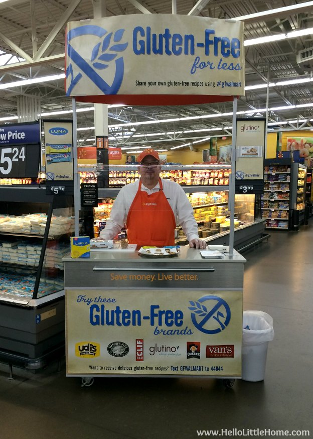 Learning About Gluten-Free Foods: Walmart Gluten-Free Event | Hello Little Home #gfwalmart