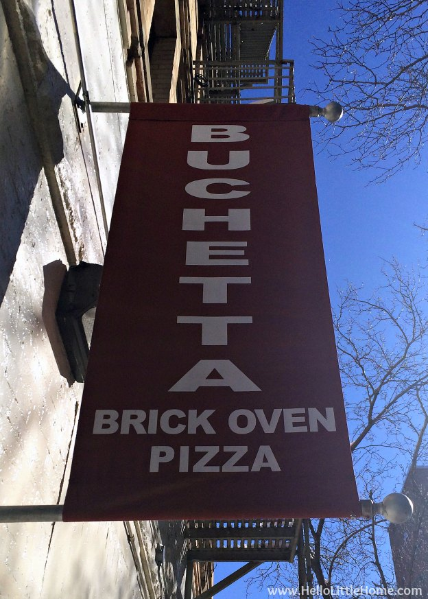 Romantic NYC Restaurants: Buca | Hello Little Home #cbias