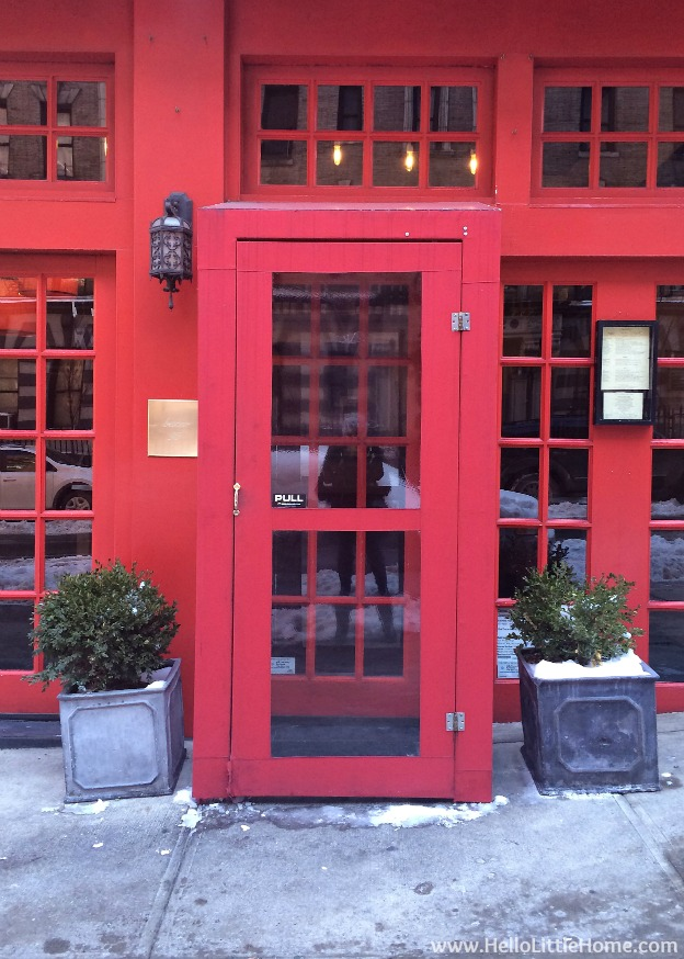 Romantic NYC Restaurants: Buceo 95| Hello Little Home #cbias