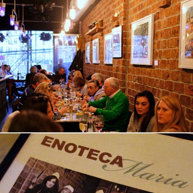 Romantic NYC Restaurants: Enoteca Maria | Hello Little Home #cbias