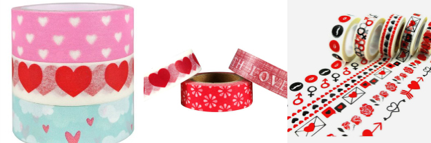 Valentine's Day Washi Tape | Hello Little Home