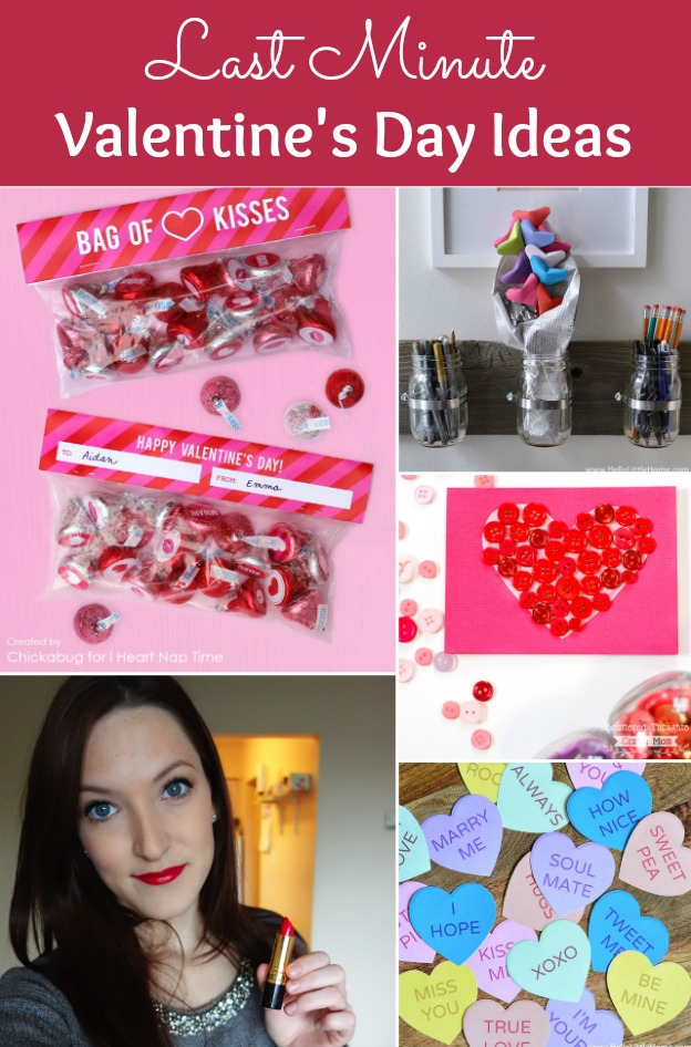 You are going to LOVE these Last Minute Valentine's Day Ideas! | Hello Little Home