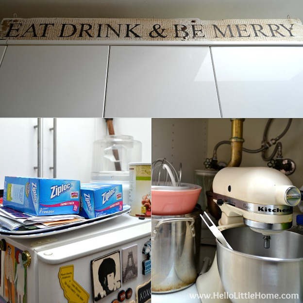 Organizing a Small Kitchen: Use Every Nook and Cranny | Hello Little Home