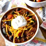 Roasted Vegetable Quinoa Chili