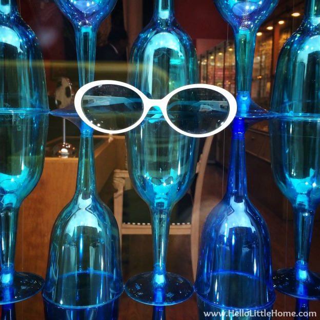 Sunglasses Display | Hello Little Home