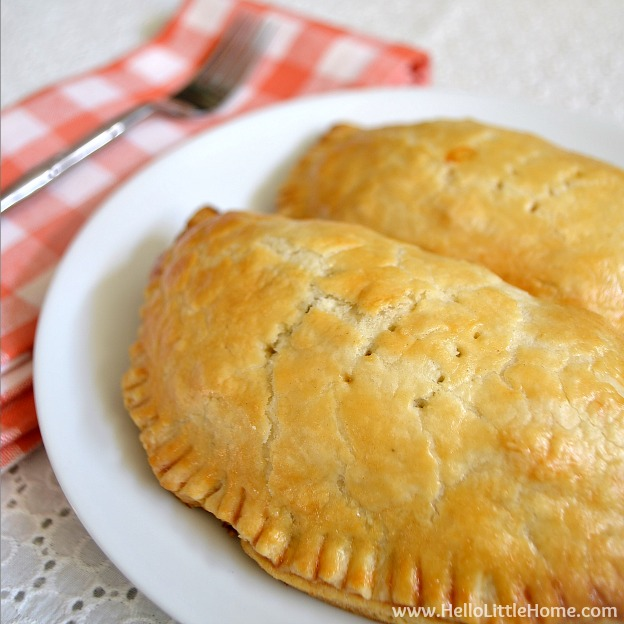 Vegetarian Sausage and Egg Hand Pies