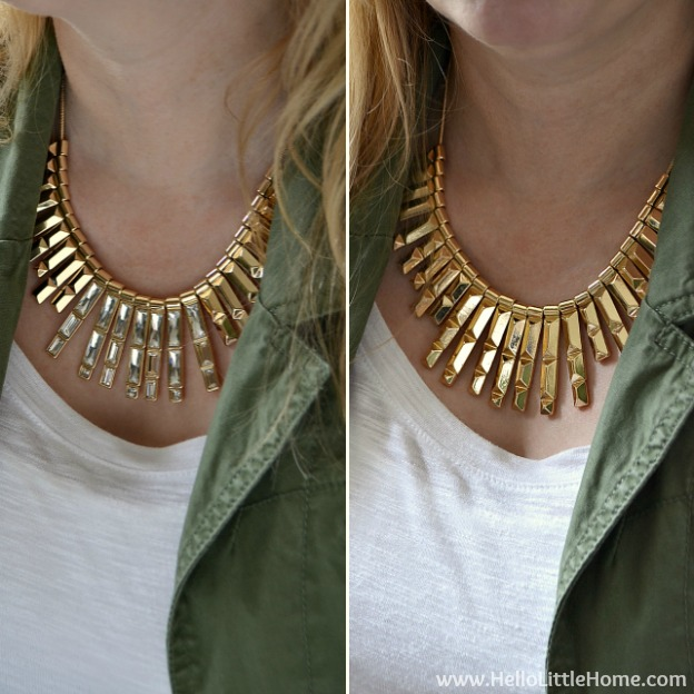 Accessorizing a Casual Outfit with Rocksbox!| Hello Little Home #Jewelry #style #fashion