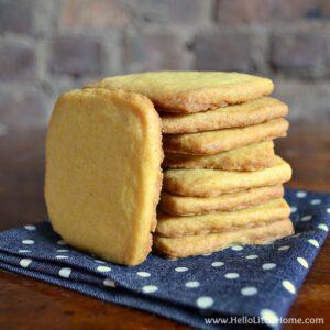 Curry Shortbread Cookies