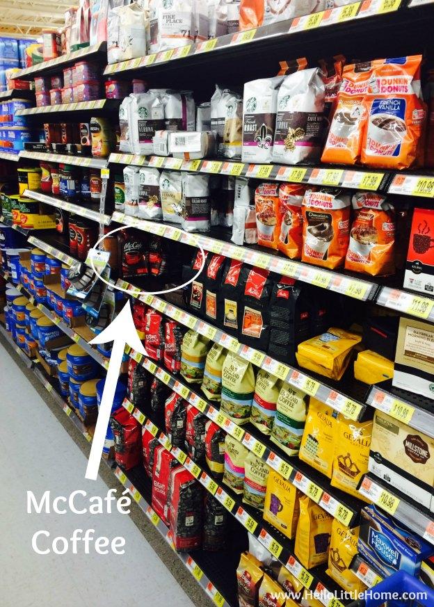 McCafé Coffee at Walmart | Hello Little Home #McCafeMyWay