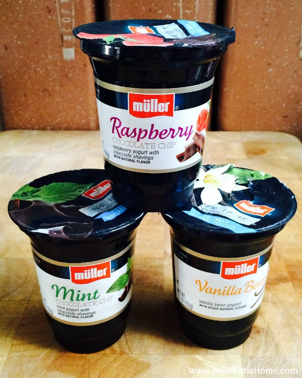 Müller® Ice Cream Inspired Yogurt Flavors | Hello Little Home #MullerMoment