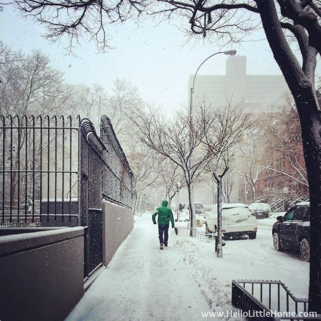 Winter in New York   Hello Little Home