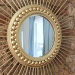 DIY Home Decor Projects: DIY Sunburst Mirror | Hello Little Home #interiordesign #crafts