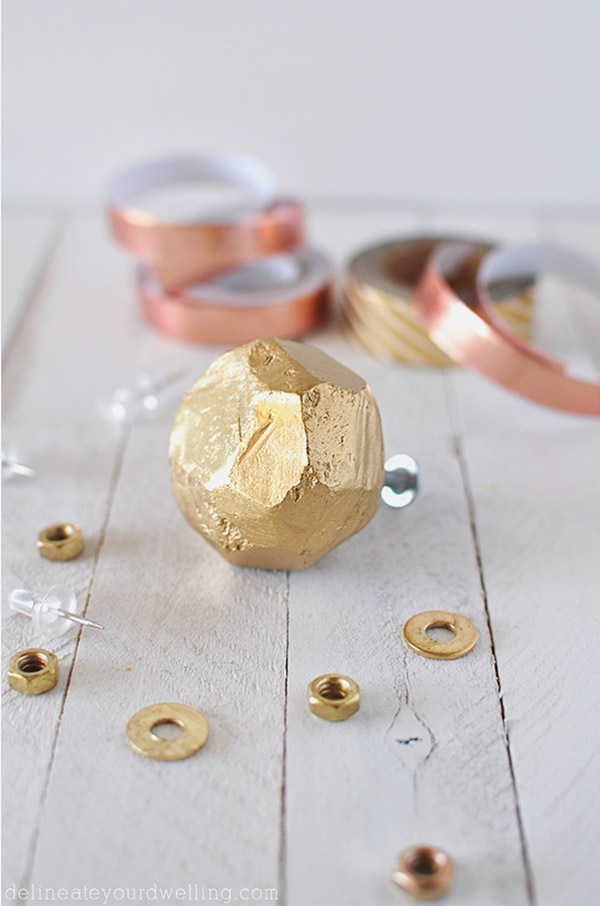 DIY Home Decor Projects: Simpe Clay Knobs | Hello Little Home #interiordesign #crafts