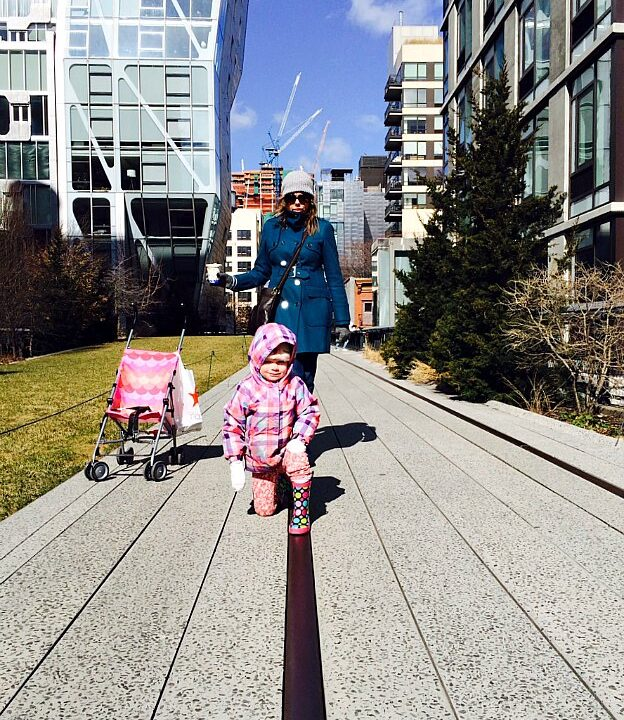 Kris and Savanna on the High Line | Hello Little Home