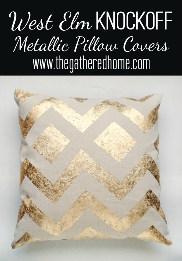 20 diy gold home decor projects Metallic home decor pinterest