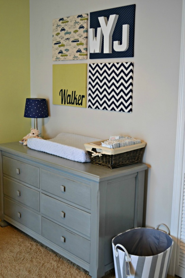 15 Easy DIY Wall Art Projects: Nursery Art | Hello Little Home #crafts #artwork