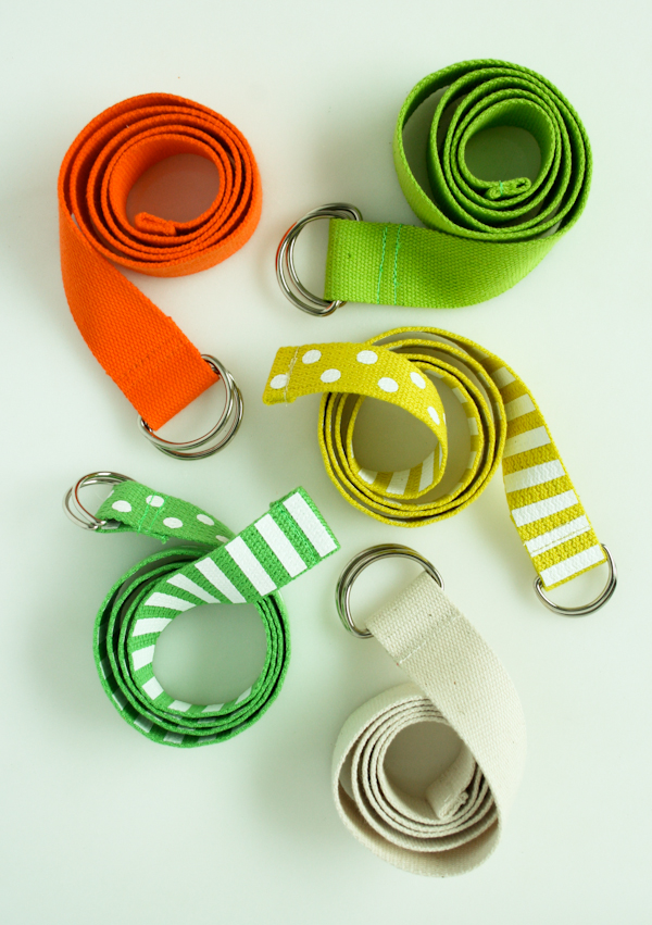 15 DIY Fashion Accessories You Can Make: D-Ring Belt from The Purl Bee | Hello Little Home