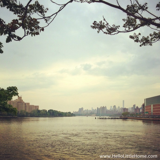 East River View of Manhattan | Hello Little Home