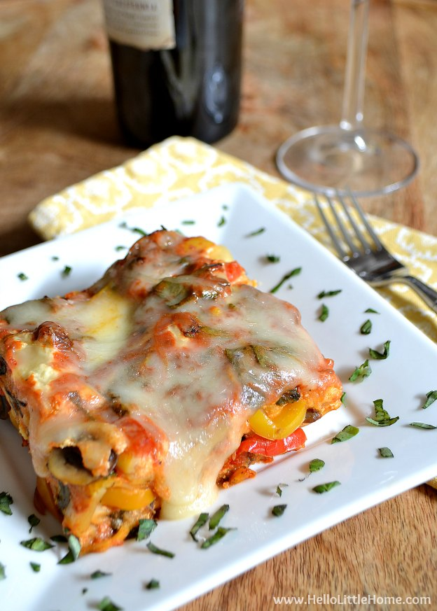 Fix it and forget it! This easy Vegetable Crockpot Lasagna is the ...