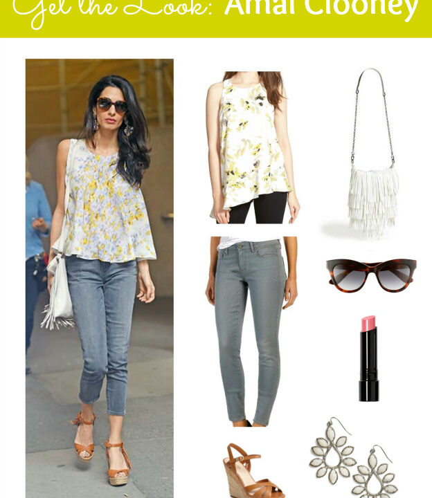 Get the Look: Amal Clooney in a bright, springy, and fun outfit! | Hello Little Home