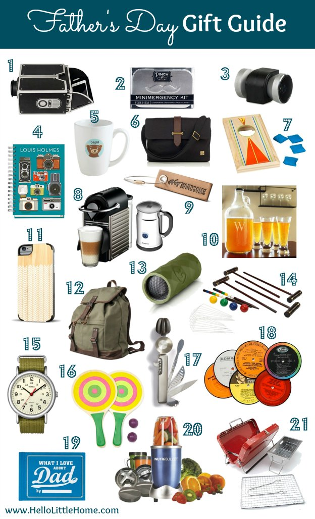 Check out this Father's Day Gift Guide to find the perfect present for your special Dad! | Hello Little Home