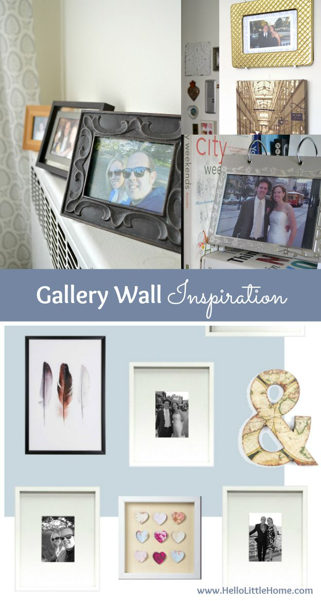 Gallery Wall Inspiration for the Bedroom | Hello Little Home