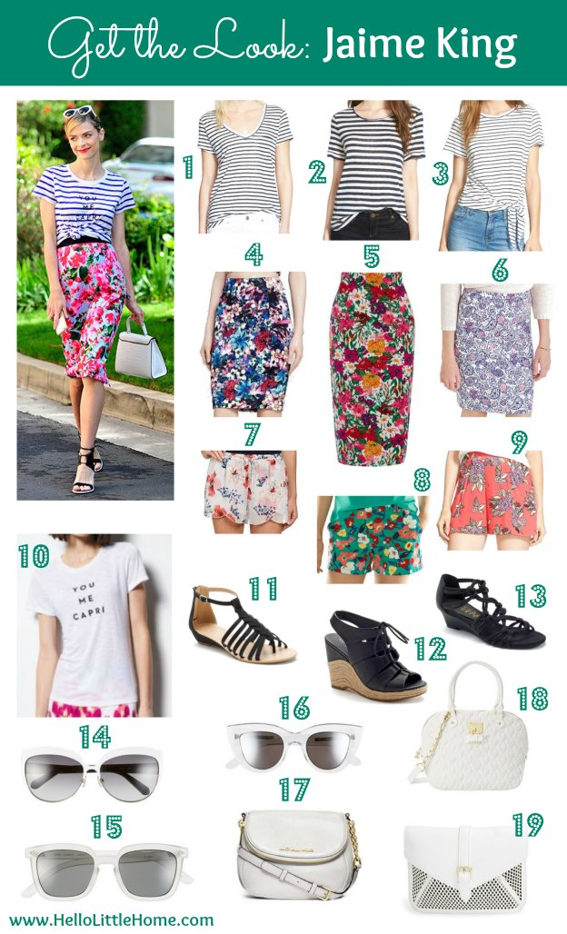 Get the Look: A Fun, Summer Outfit Inspired by Jaime King! | Hello Little Home