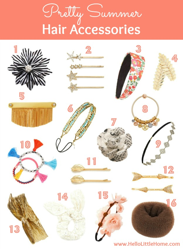 Pretty Summer Hair Accessories