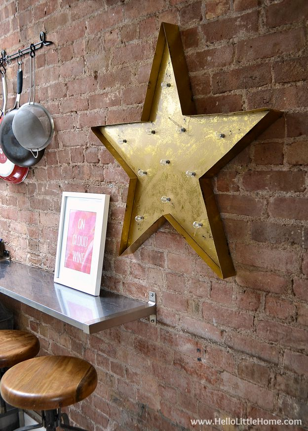 This Star Marquee Light from Graham and Brown is the perfect addition to any room! | Hello Little Home