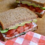 Tomato Avocado Sandwich