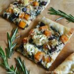 Roasted Fall Vegetable Pizza