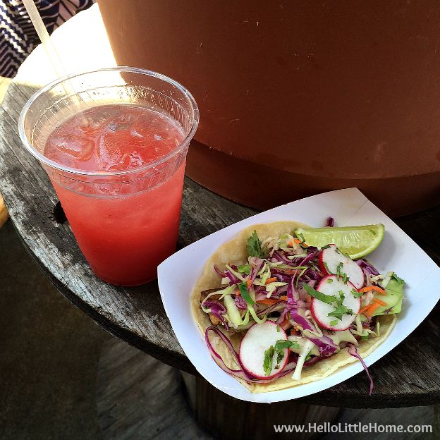 Tofu Taco at Tacoway Beach in the Rockaways | Hello Little Home