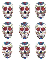 Free DIY Sugar Skull Banner Printable | Hello Little Home