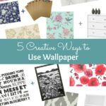 My Favorite Home Decor Trends, including 5 Creative Ways to Use Wallpaper ... other than on your walls! | Hello Little Home #WallpaperWeek