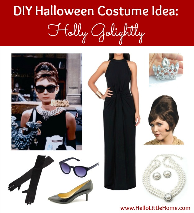 3 DIY Halloween Costume Ideas Holly Golightly (click through for 2 more!)  sc 1 st  Hello Little Home & 3 DIY Halloween Costume Ideas