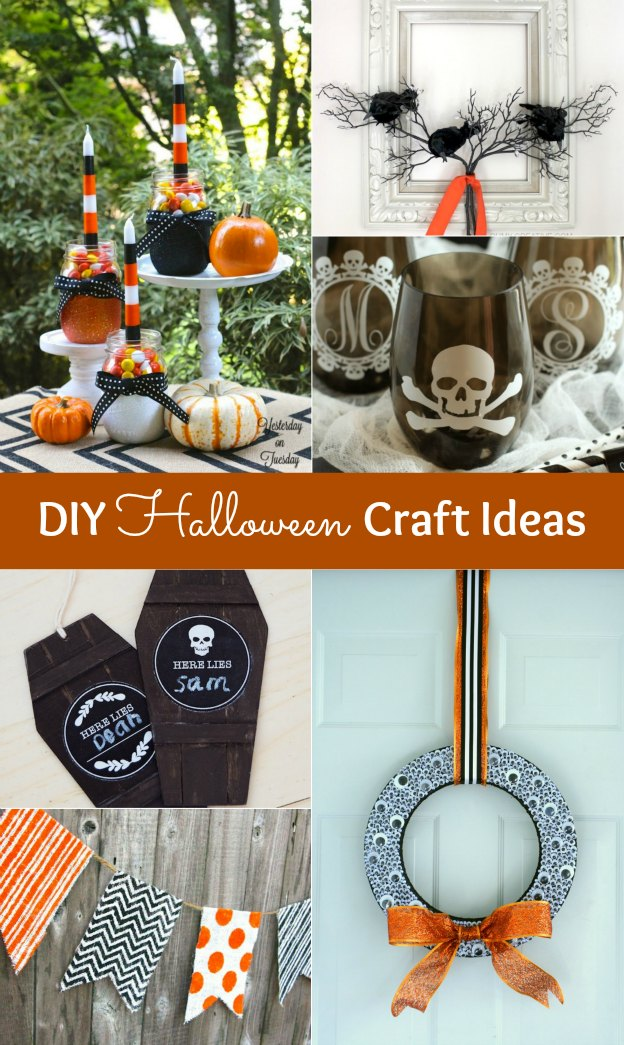 20+ DIY Halloween Craft Ideas | Hello Little Home