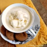 This Salted Caramel Affogato is a delicious end to a great meal! | Hello Little Home