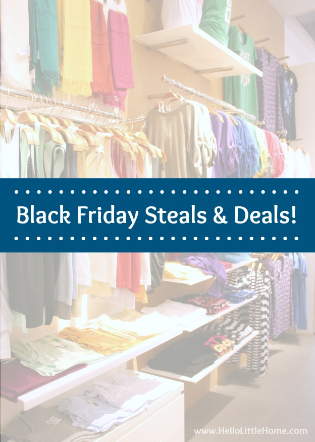 Shop the best Black Friday Sales ... in your pajamas! | Hello Little Home