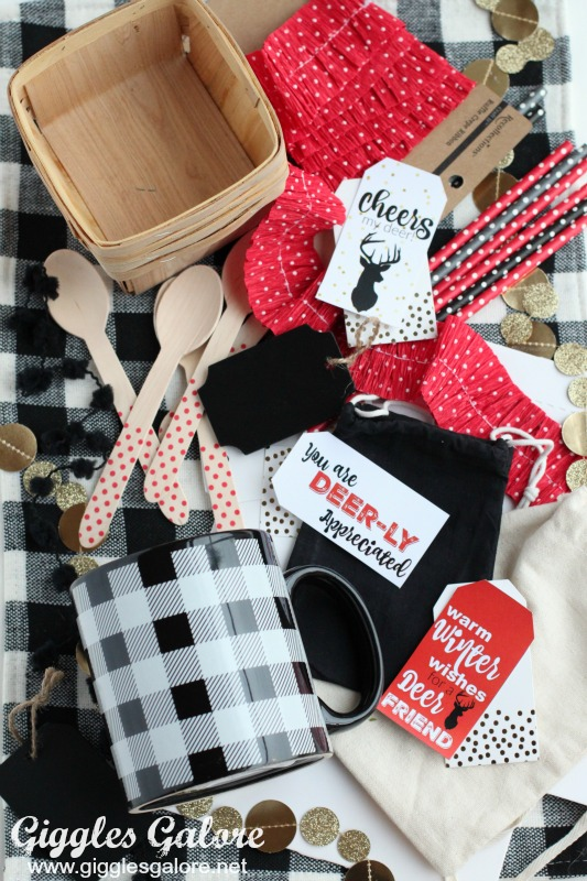 DIY Christmas Gift Tags from Giggles Galore