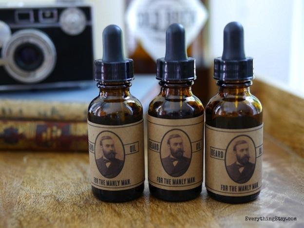 Homemade Beard Oil from Everything Etsy, featured on The Ultimate DIY Christmas Gift Guide: 50+ Gift Ideas for Everyone on Your List! | Hello Little Home