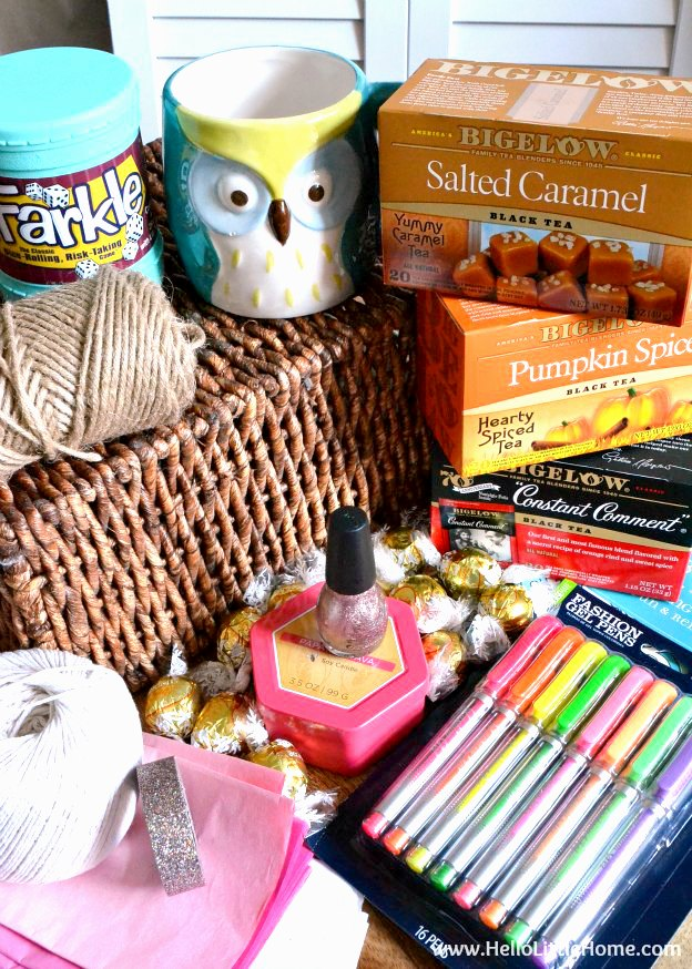 DY Relaxation Gift Basket Supplies