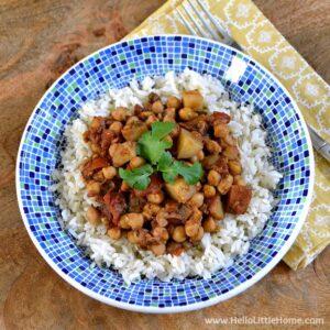 Easy Chickpea Potato Curry