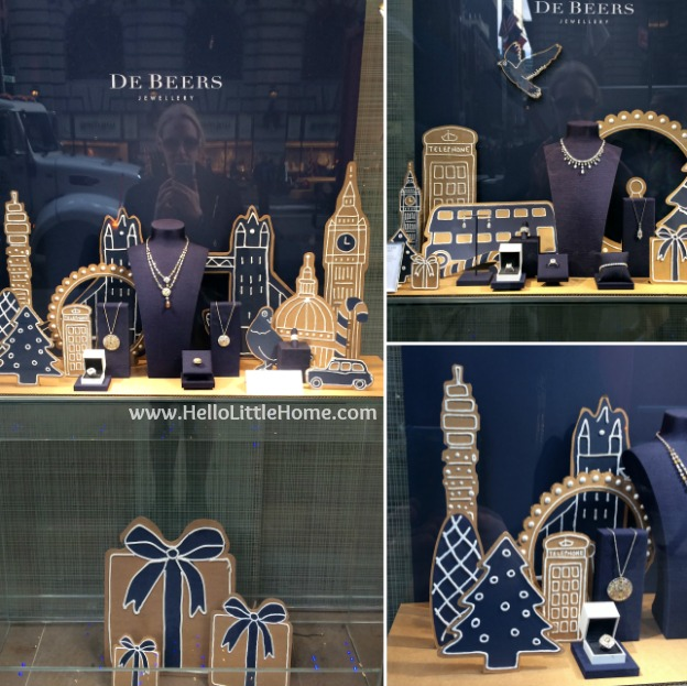 Join me on my NYC Holiday Tour 2015 of Christmas window displays, trees, and lights! De Beers | Hello Little Home