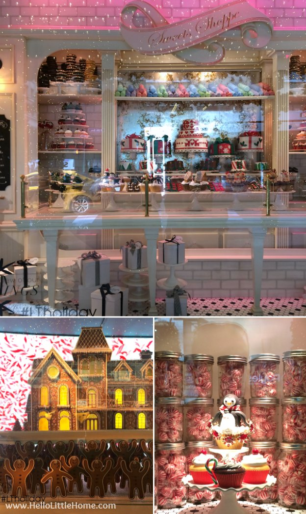 Join me on my NYC Holiday Tour 2015 of Christmas window displays, trees, and lights! Lord & Taylor | Hello Little Home
