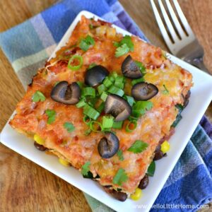 Easy Mexican Lasagna